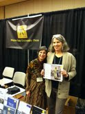 Judith Brin Ingber with Wayne State University Press's Editor-in-Chief Kathy Wildfong, at the Association of Jewish Studies Conference.