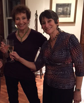 Judith Brin Ingber with Dawn Lille